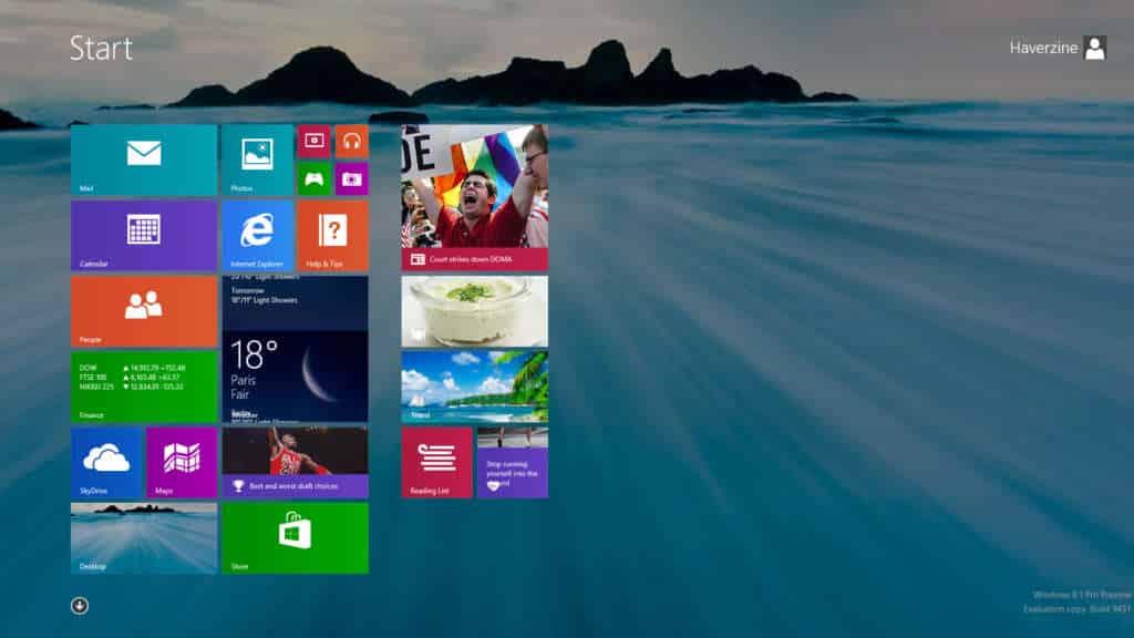 Windows 8.1 ya puede ser reservado por usuarios americanos.