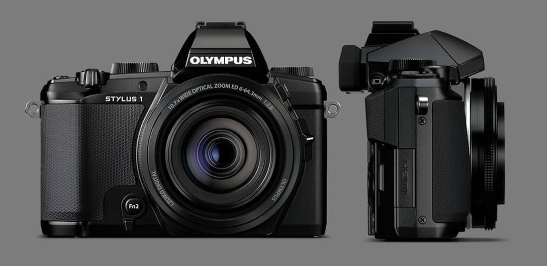 El diseño de la Stylus 1 está inspirada en las Olympus OM-D