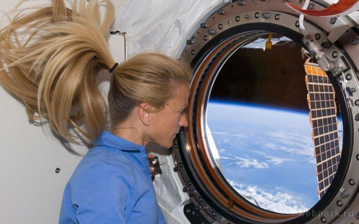 Estación Espacial Internacional desde adentro.