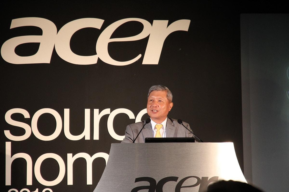 J.T. Wang dejará de ser el CEO de Acer desde enero de 2014.