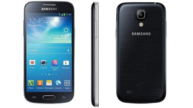 El Samsung Galaxy S4 Mini, que actualmente venden en la compañía, podría ser un  equipo del catálogo 4G LTE Entel.