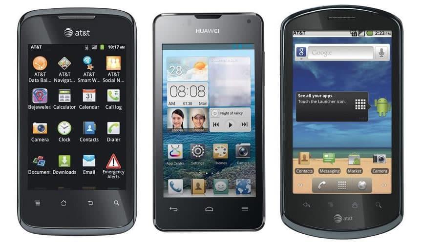 Gran parte de las ventas de equipos Huawei en EE.UU. se hacían a través de AT&T y T-Mobile