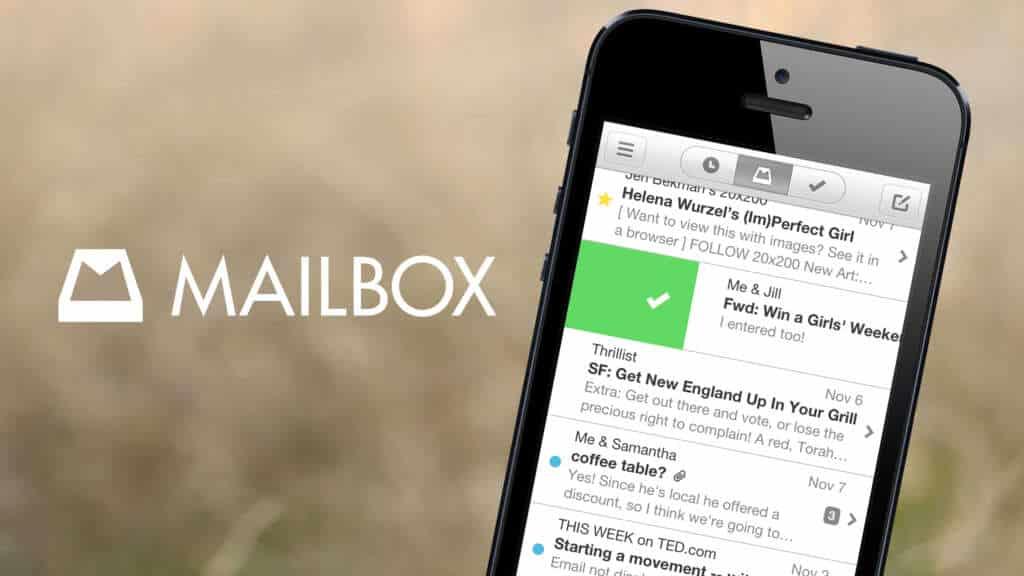 Mailbox ha destacado por su buen servicio en la administración de correos, aunque sólo contaba con cuentas GMAIL.