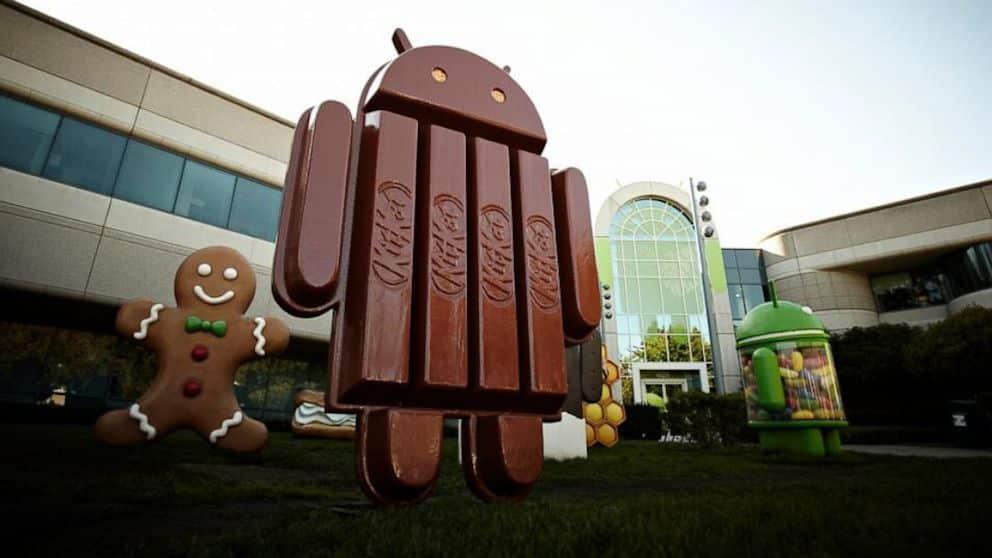 Android KiKat 4.4 debutó hace un mes y sólo ha conseguido instalarse en el 1,1% de los usuarios.