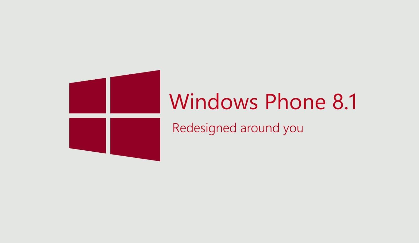 Windows Phone 8.1 debería estar disponible en abril de 2014 para los usuarios.