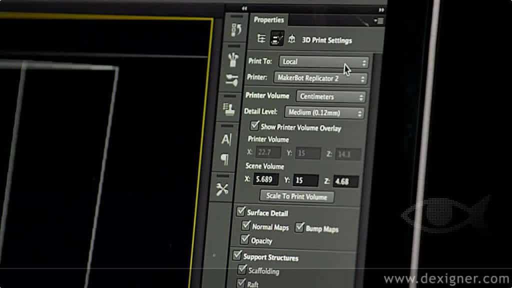 Adobe Photoshop CC ahora permitirá trabajar con impresoras 3D.