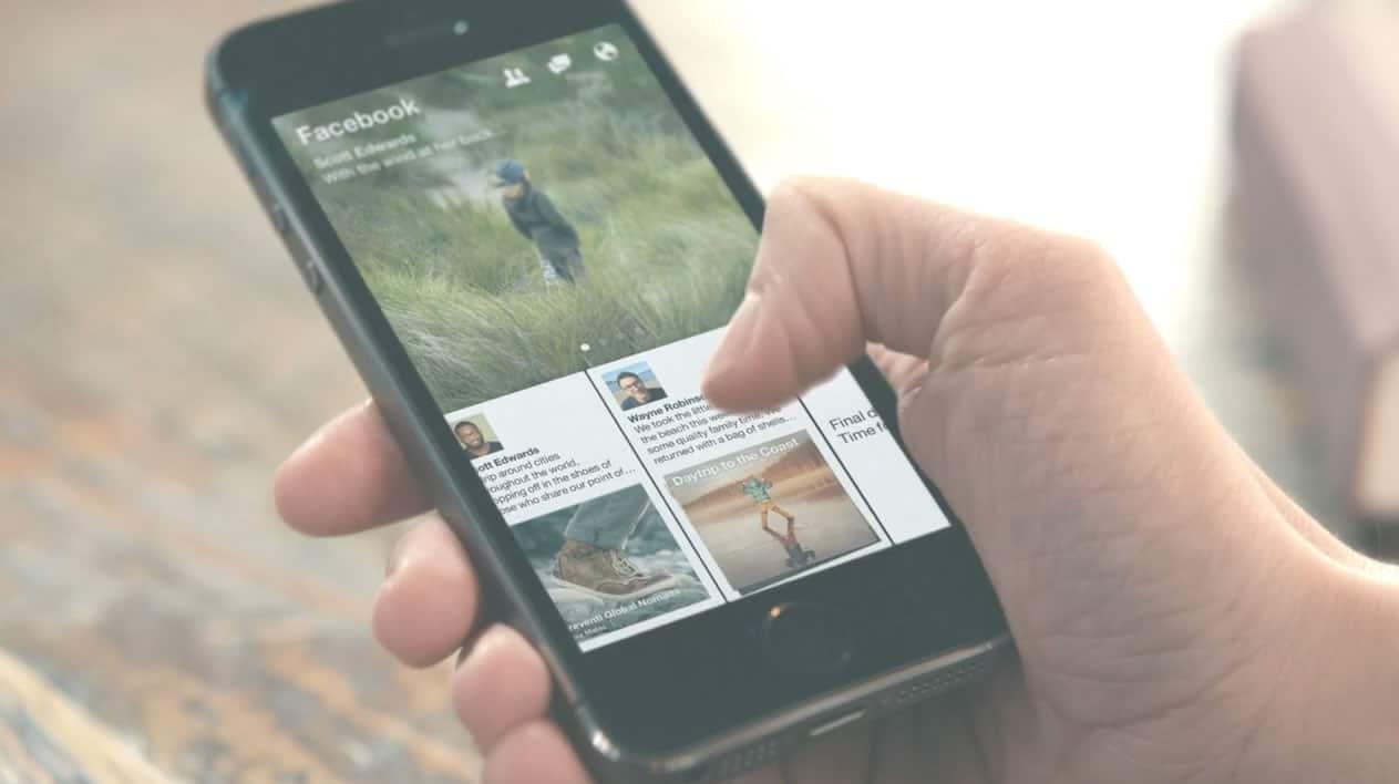 Facebook Paper estará disponible en una primera etapa para iOS en Estados Unidos.