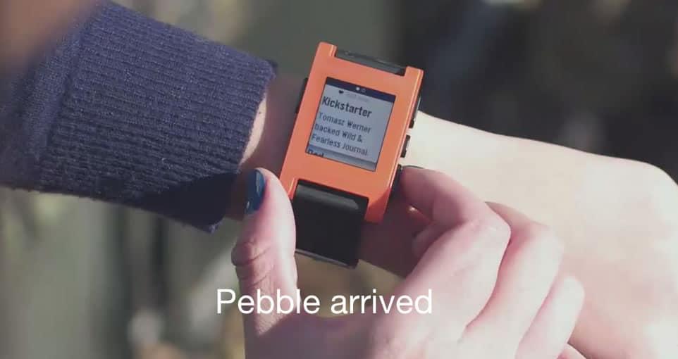 Pebble fue uno de los tantos productos estrellas que nacieron gracias a Kickstarter el 2013.