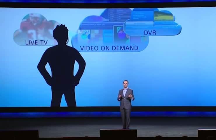 Andrew House de Sony Computer Entertainment hablando de Cloud TV.
