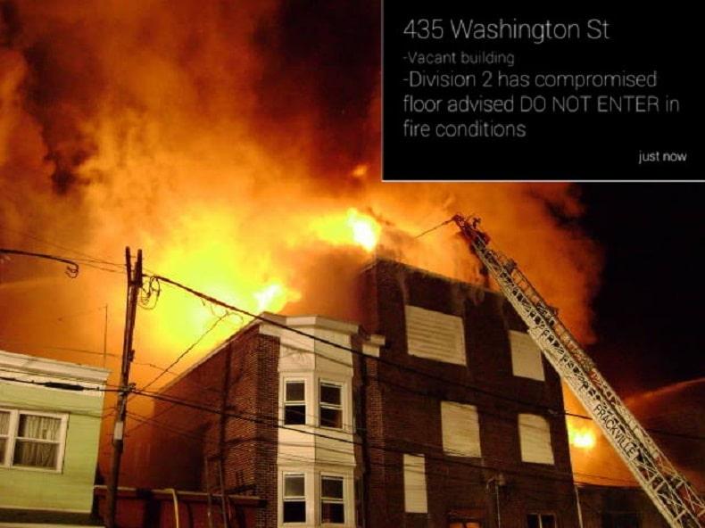 La aplicación que desarrolló el bombero podrá avisar el lugar de la emergencia.