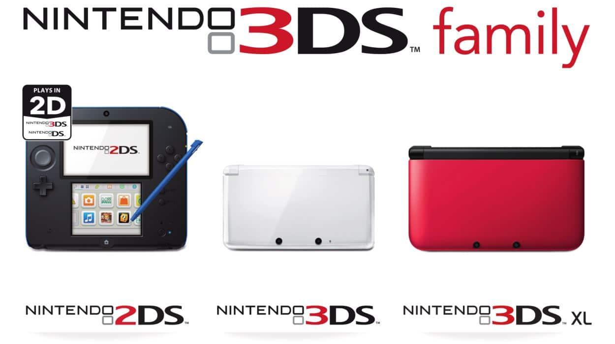 Nintendo 3DS aumentó en un 45% su ventas en comparación a 2012.