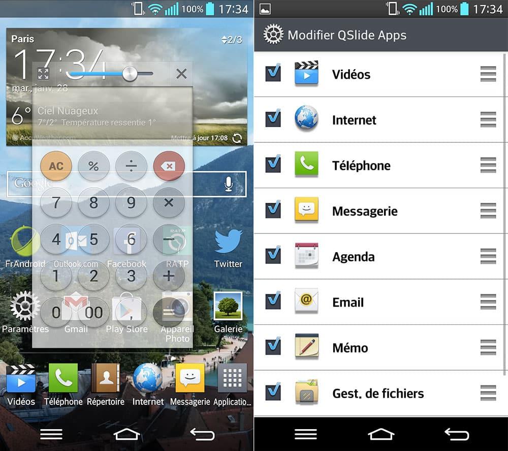 LG abrió la plataforma para desarrollar mini apps QSlide.