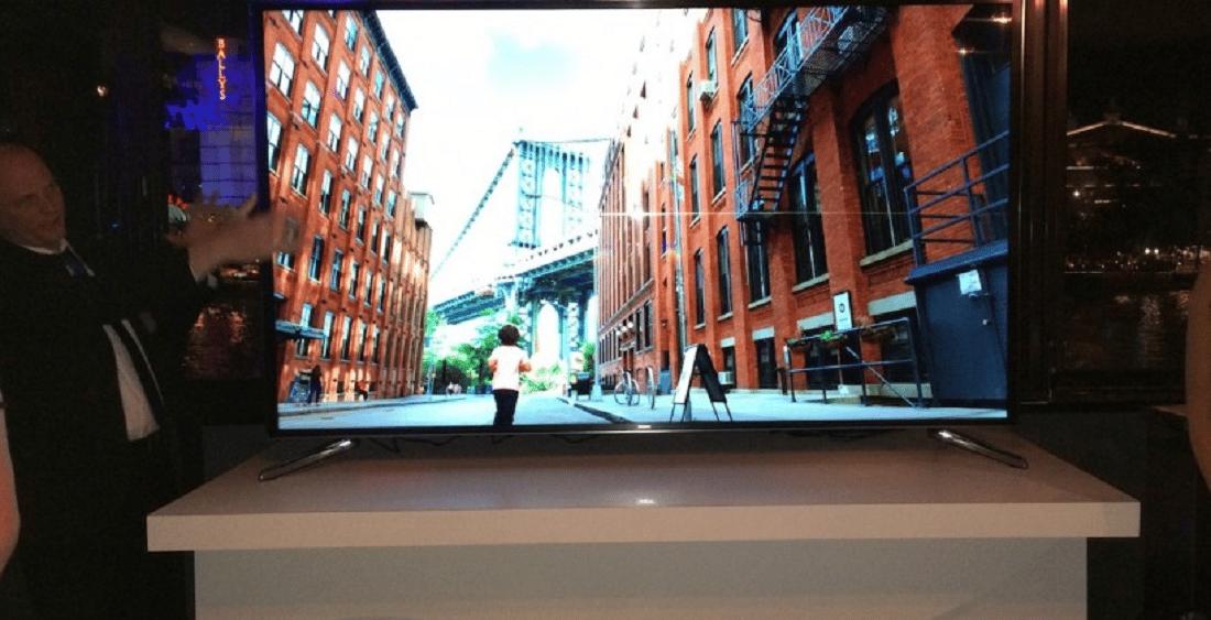 Televisor Flexible - Samsung aprovechó la CES 2014 para presentar un prototipo de su primer televisor con pantalla flexible.