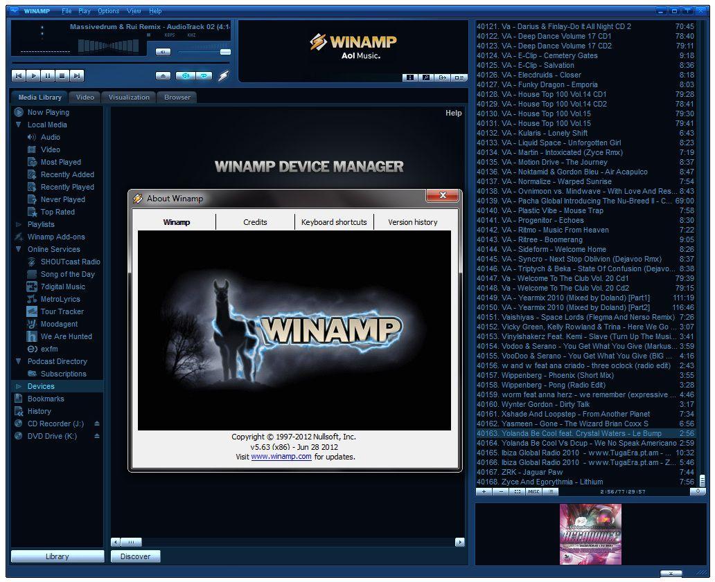 Para AOL, la única forma de salvar Winamp, es vendiéndola.