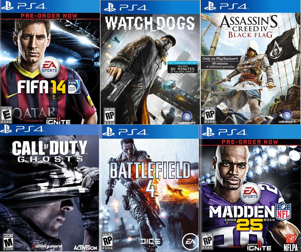 Sony espera que en 2014 aparezcan más de 100 títulos en la PlayStation 4.
