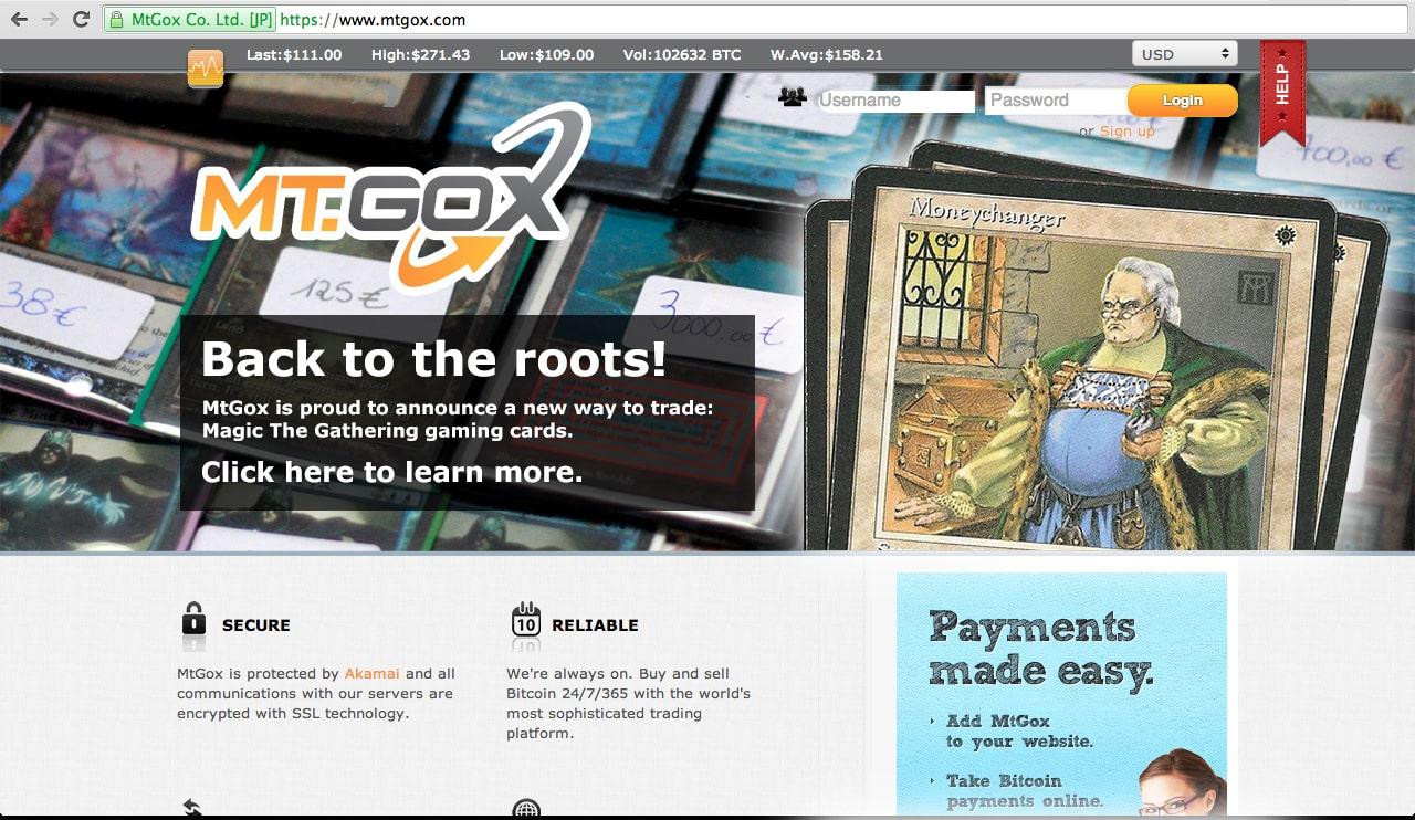 La plataforma de Bitcoin, Mt.Gox, se declaró en quiebra y produjo la desaparición de 750.000 bitcoins.