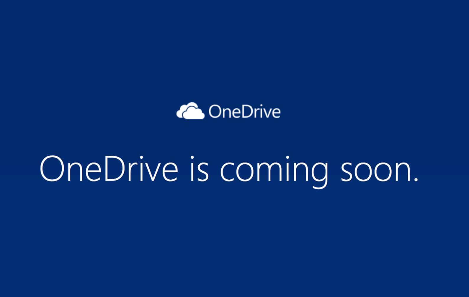 OneDrive es el nuevo nombre de SkyDrive, que debió cambiar su nombre producto de una demanda.