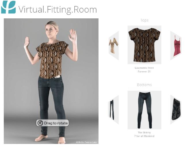 Ebay permitirá a los usuarios probarse la ropa antes de comprarla gracias a PhiSix.