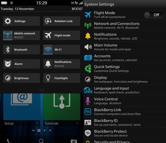 Ésta es parte de la configuración rápida que incluye la versión 10.2.1.
