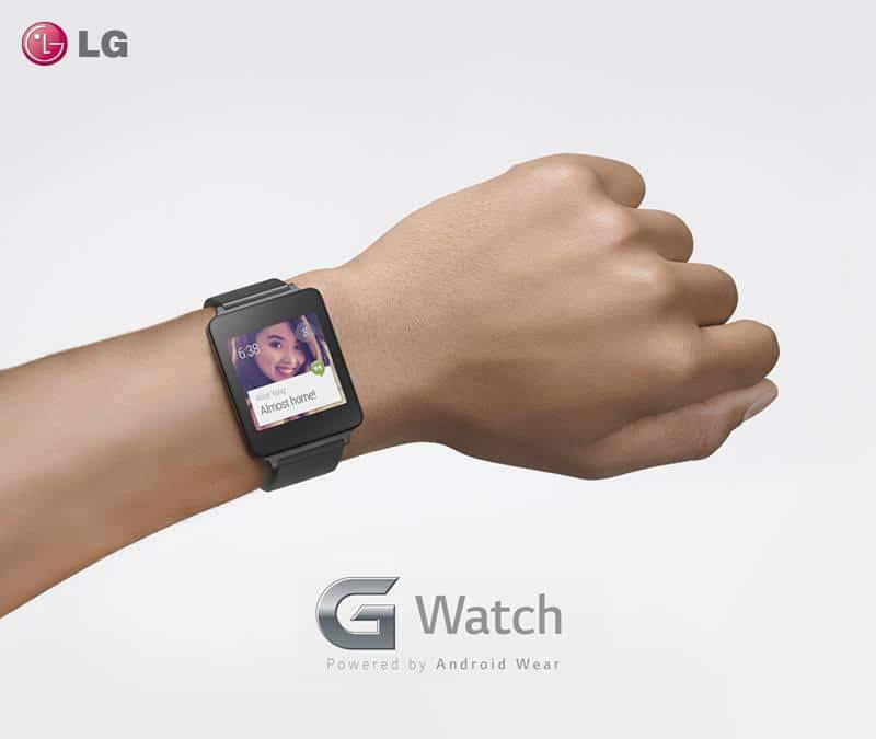 LG publicó en Twitter la primera imagen de G Watch, su primer reloj inteligente.