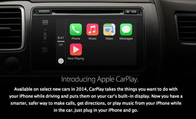 iOS 7.1 introduce a CarPlay, una de las mayores novedades en esta nueva versión.