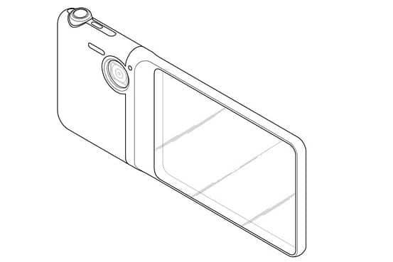 Samsung patentó una cámara con pantalla transparente.