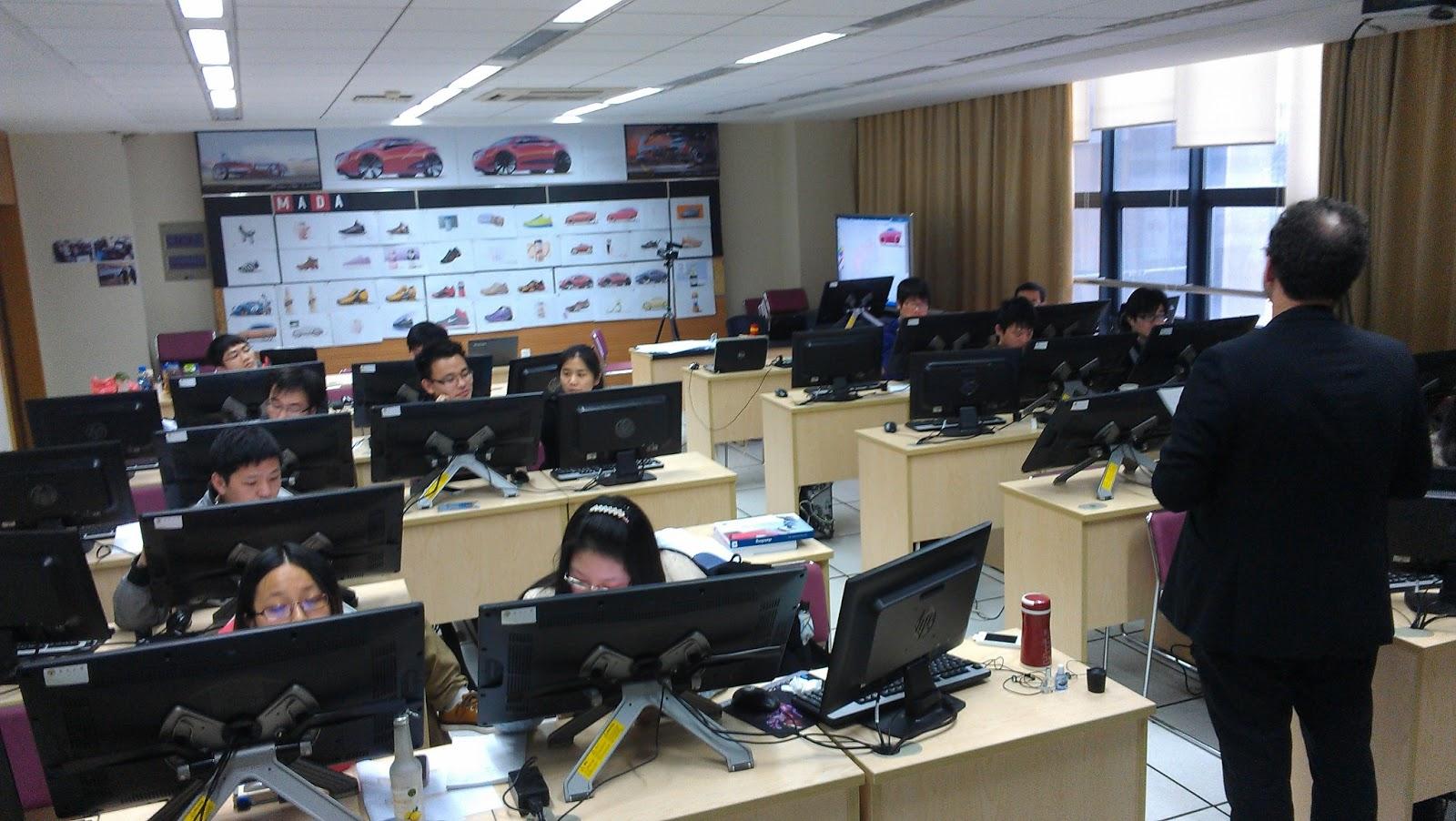 En China la compañía ya había elaborado algo como Aula Móvil Wacom.