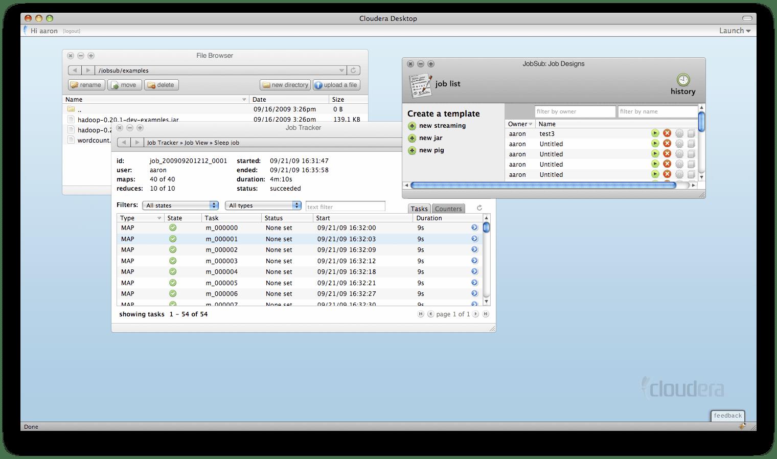 Cloudera lleva más de 5 años creando software y otras aplicaciones de Big Data.