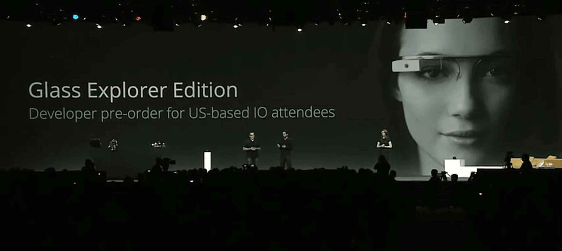 Los usuarios que compraron las primeras Google Glass se unieron al programa Explorer.