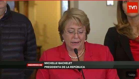 Autoridades chilenas después del terremoto declararon Zona de Catastrofe las Regiones de Arica Parinacota y Tarapaca.