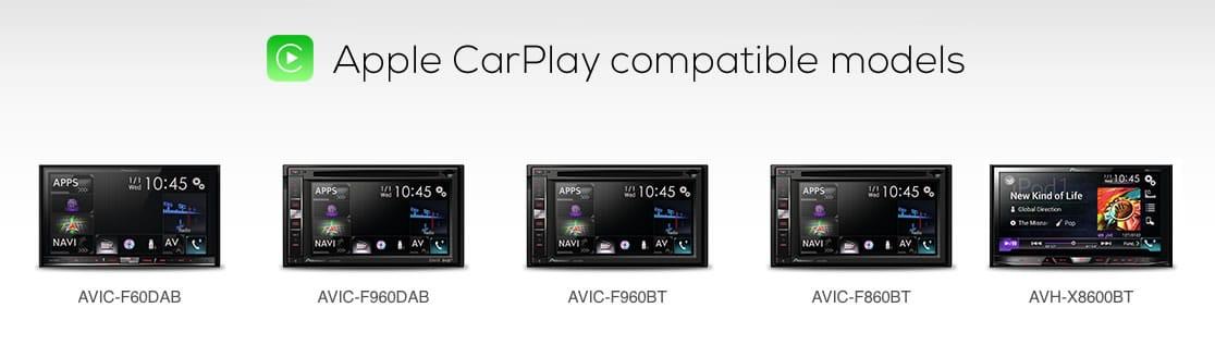 Pioneer Compatible Models CarPlay Apple