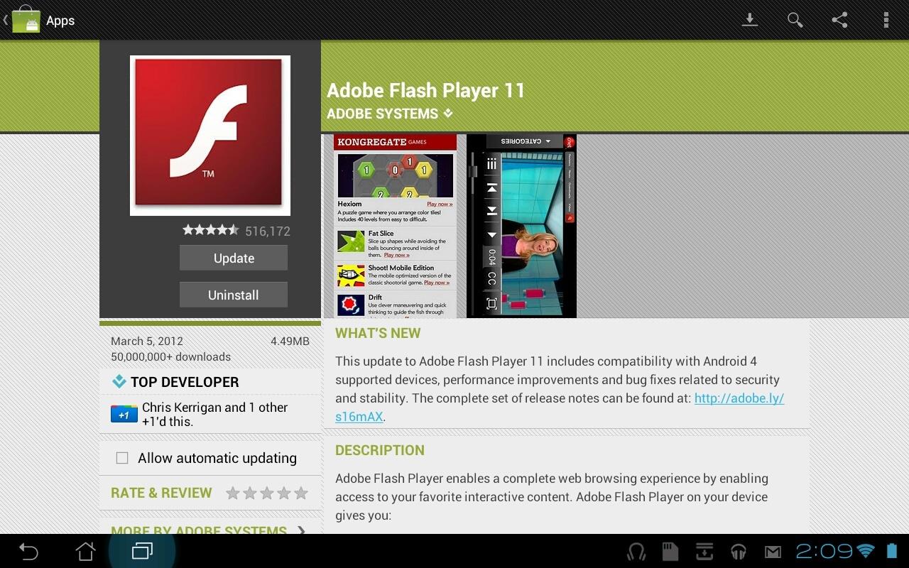 Adobe corrigió el problema que había parar los usuarios de Internet Explorer con un parche.