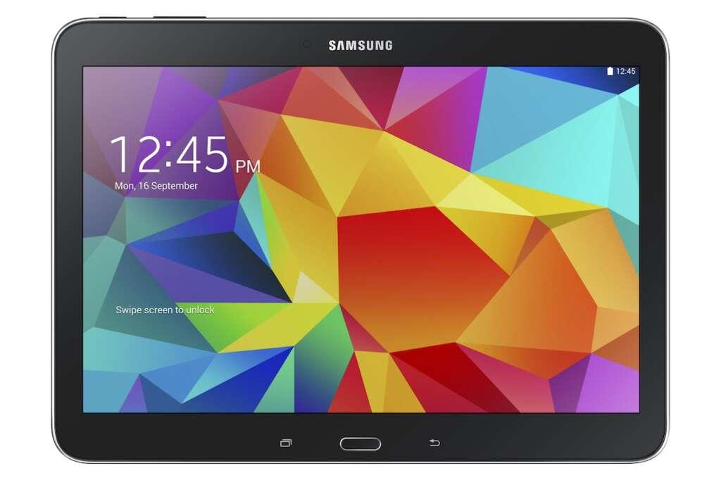 Samsung Galaxy Tab 4 10.1 es el modelo con mejores características de la nueva línea de tabletas  de la empresa.