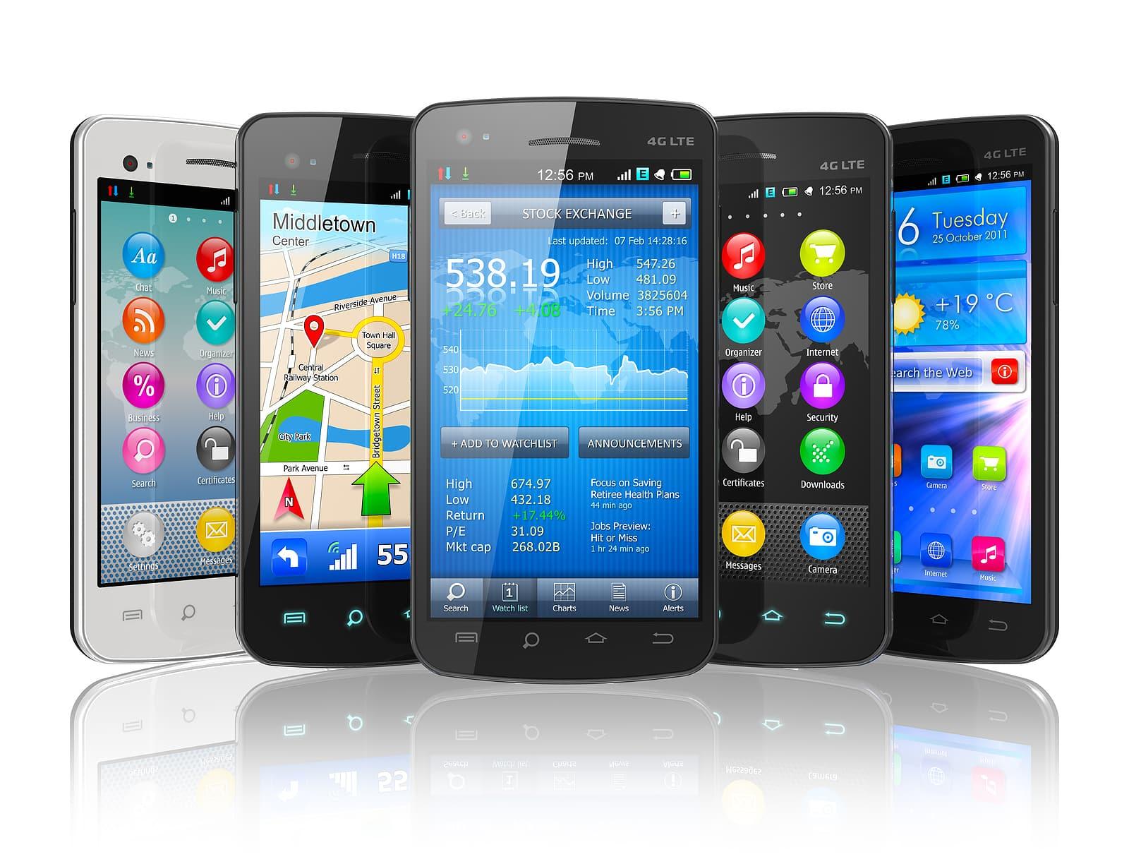 Samsung todavía es el principal fabricantes de smartphones.