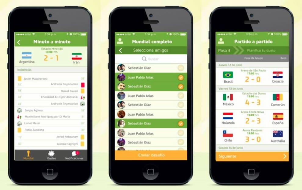 Duelo Mundialero App Futbol Mundial Brasil 2014