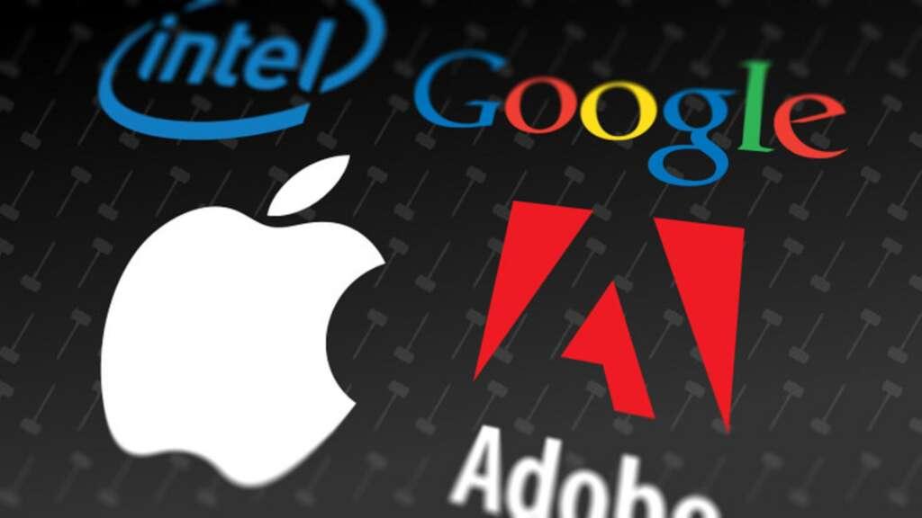 Compañías de tecnología deberán cancelar a ex trabajadores más de 300 millones de dólares, por un acuerdo para terminar una demanda laboral.