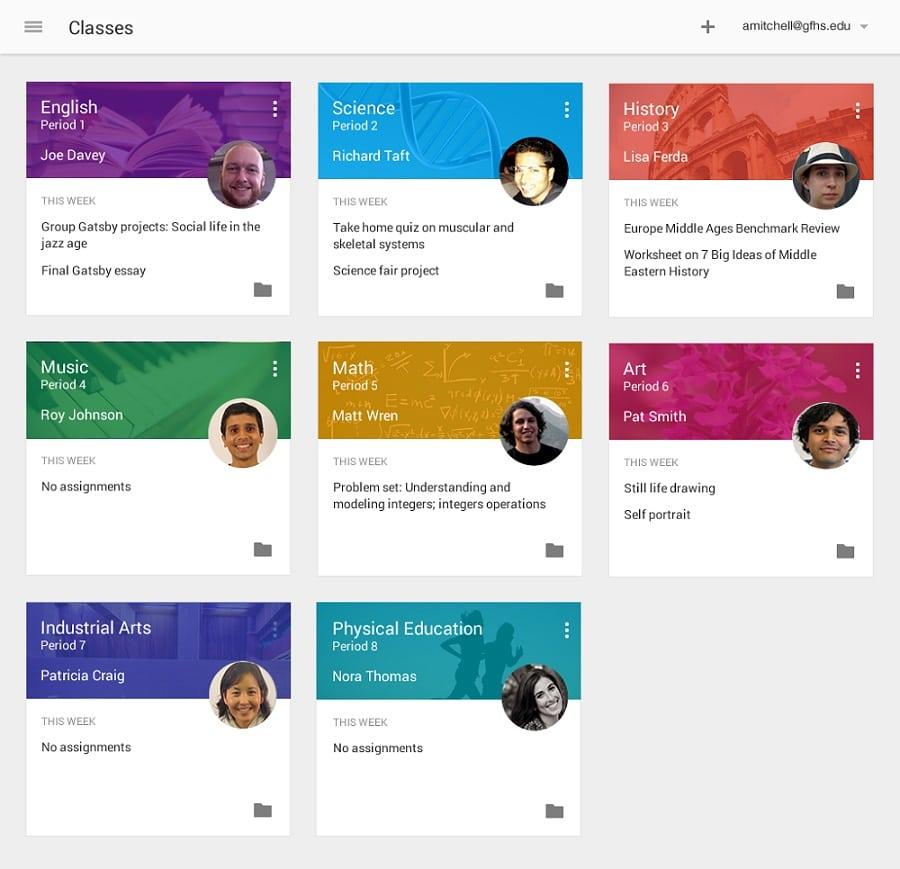 Google Classroom permitirá a los profesores crear hojas individualizadas de cada alumno.