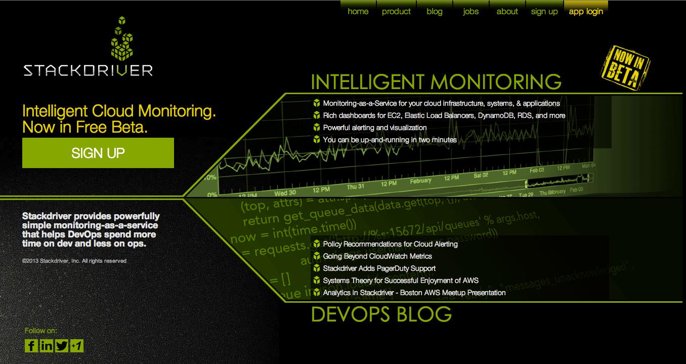Stackdriver integrará su servicio de monitoreo en la nube a Google Cloud