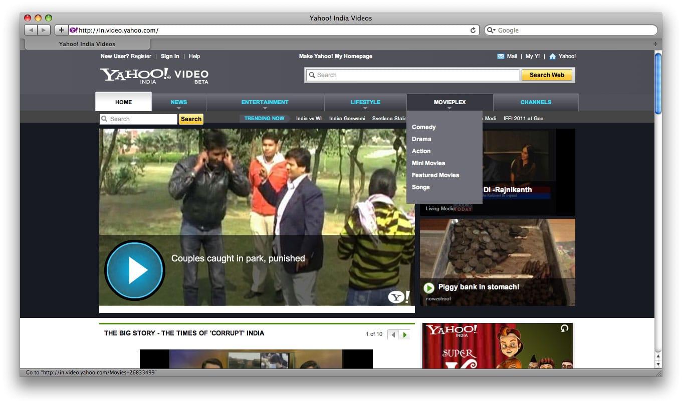 Yahoo! está preparando una plataforma de videos online.