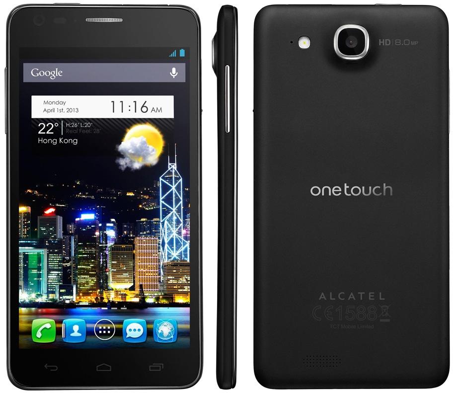 Alcatel One Touch Idol Negro