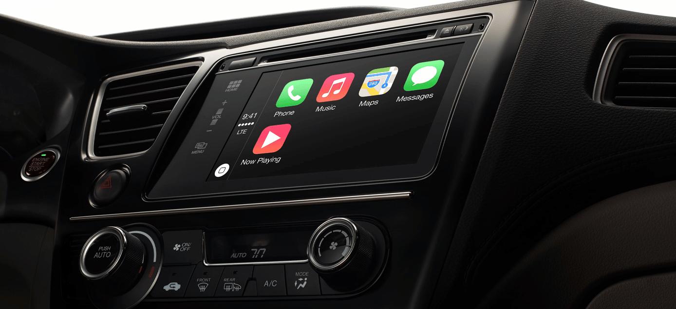 Audi es uno de los primer os fabricantes de automóviles en incorporar CarPlay.