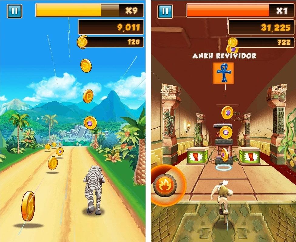 Danger Dash es el primer videojuego optimizado para el hardware de MediaTek.
