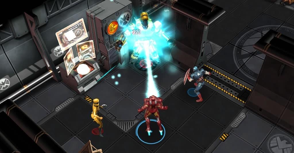 Marvel: Avengers Alliance Tactics en Facebook.