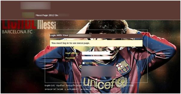 No sólo Neymar Jr. ha sido usado como anzuelo, también Messi.