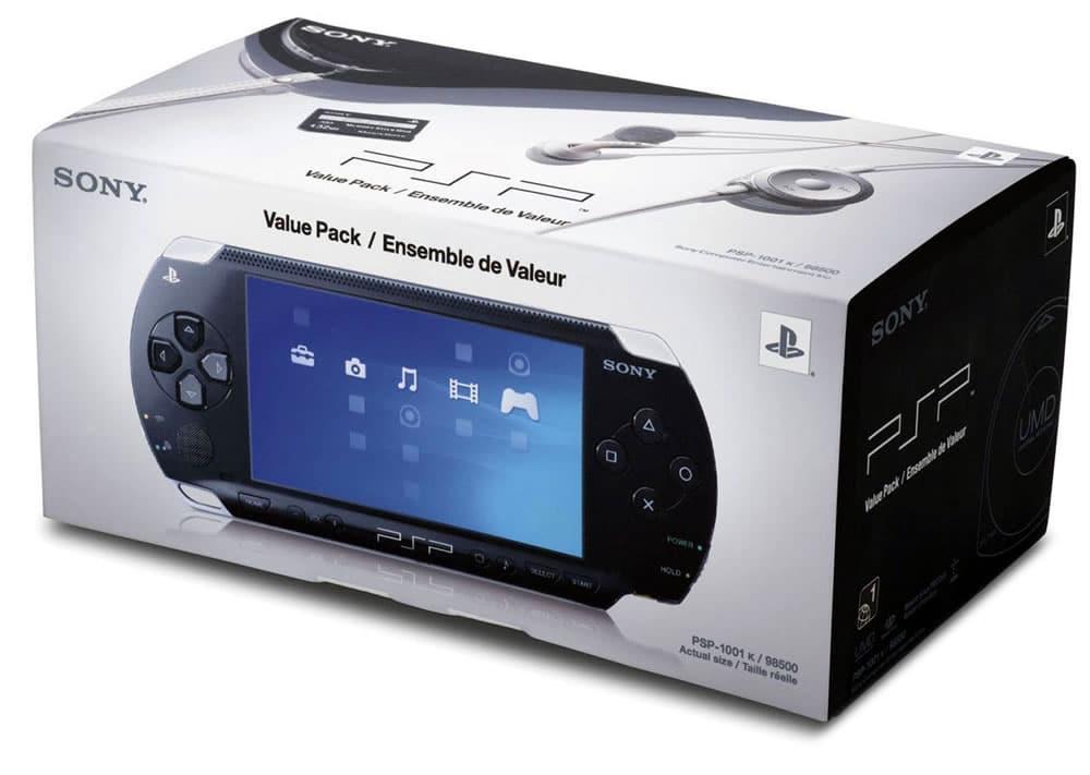 Sony PSP en su caja.