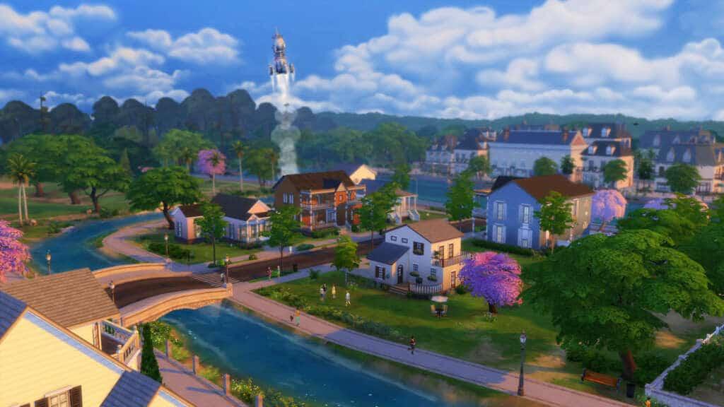 The Sims 4 E3 Rocket