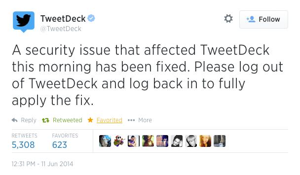 TweetDeck vulnerabilidad XSS Solucion
