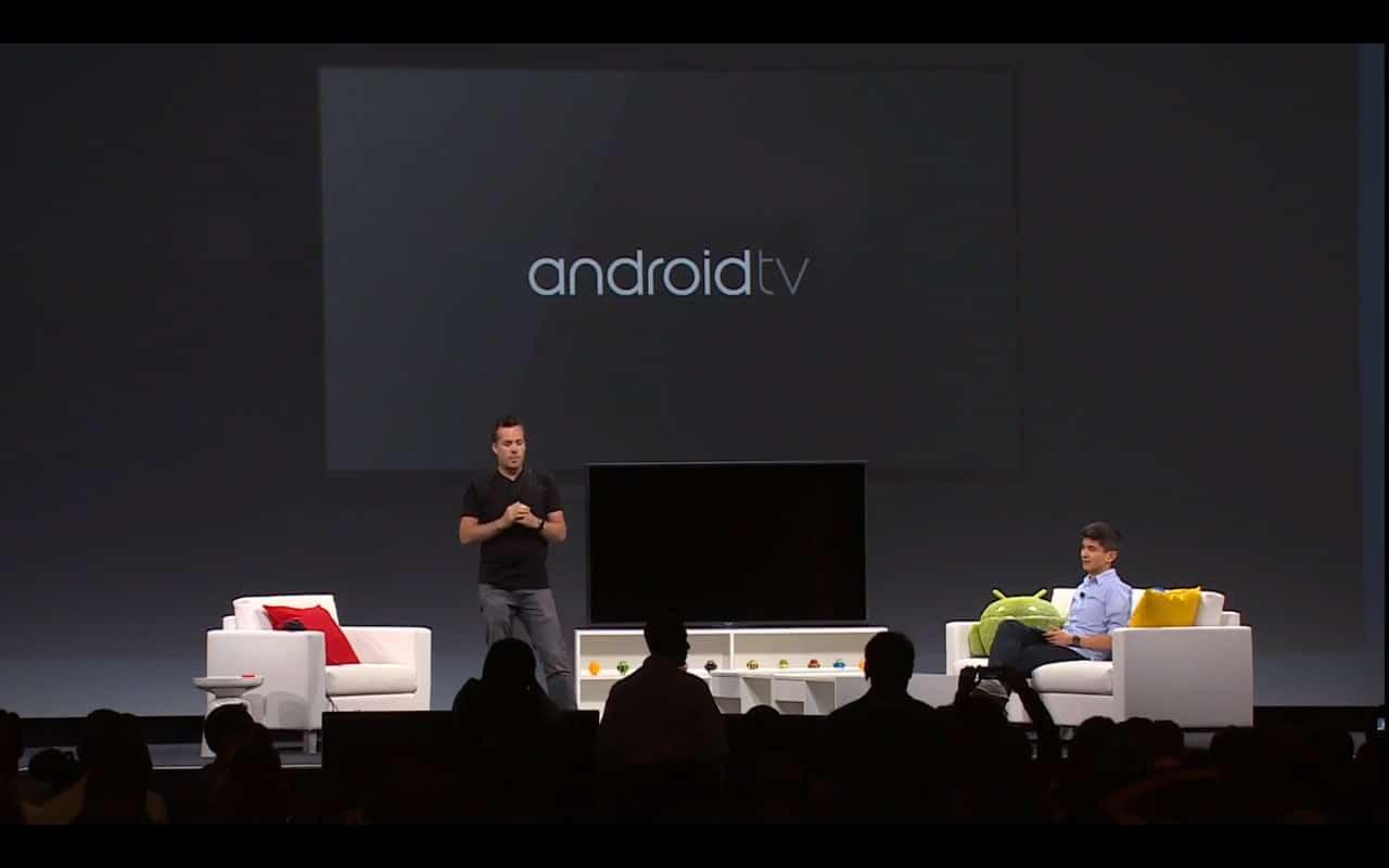 Google presentó Android TV con la idea de introducirse en el mundo de los smart TV.