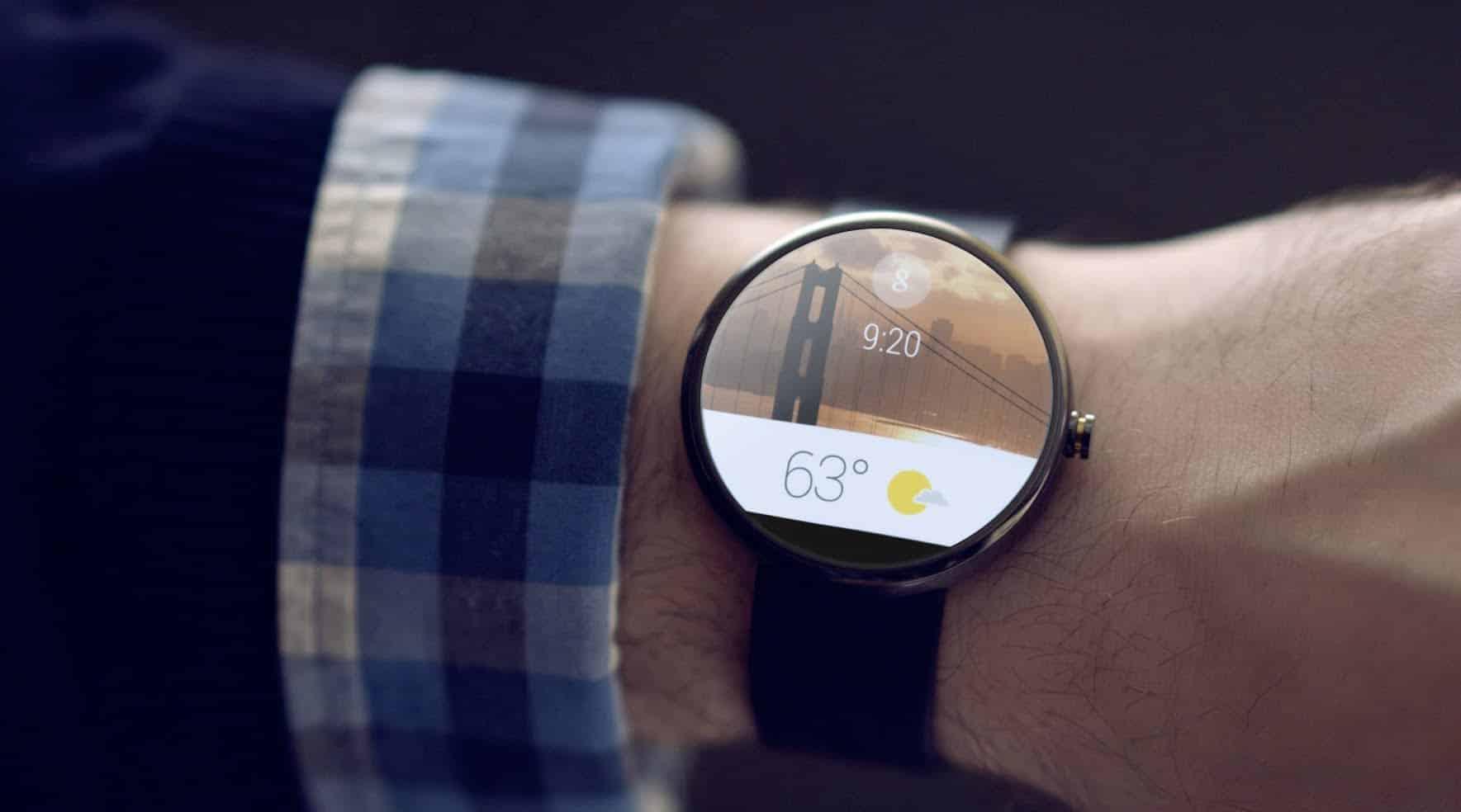 Google indicó que empresas como Google o LG están colaborando con Android Wear.