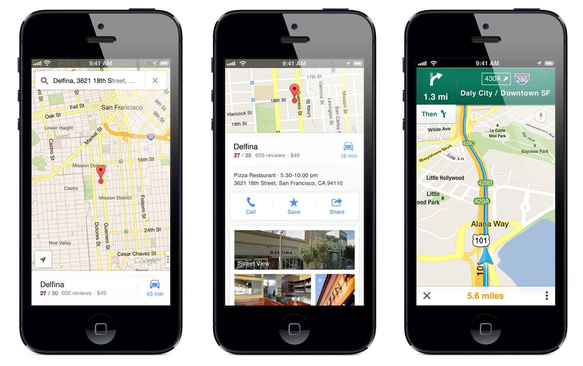 El Gobierno de Estados Unidos está buscando controlar el uso de aplicaciones como Google Maps.